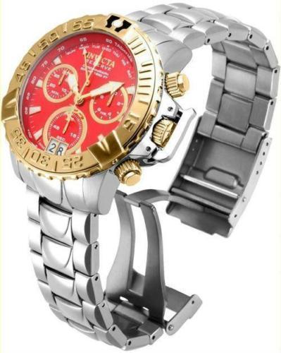 New Invicta Reserve Subaqua Noma II Swiss Made Quartz beautiful red dial Watch