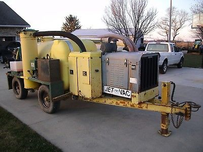 2003 Ring-O-Matic 550 Vac Vactron Trailer Vacuum Hydro Excavator Pot Hole
