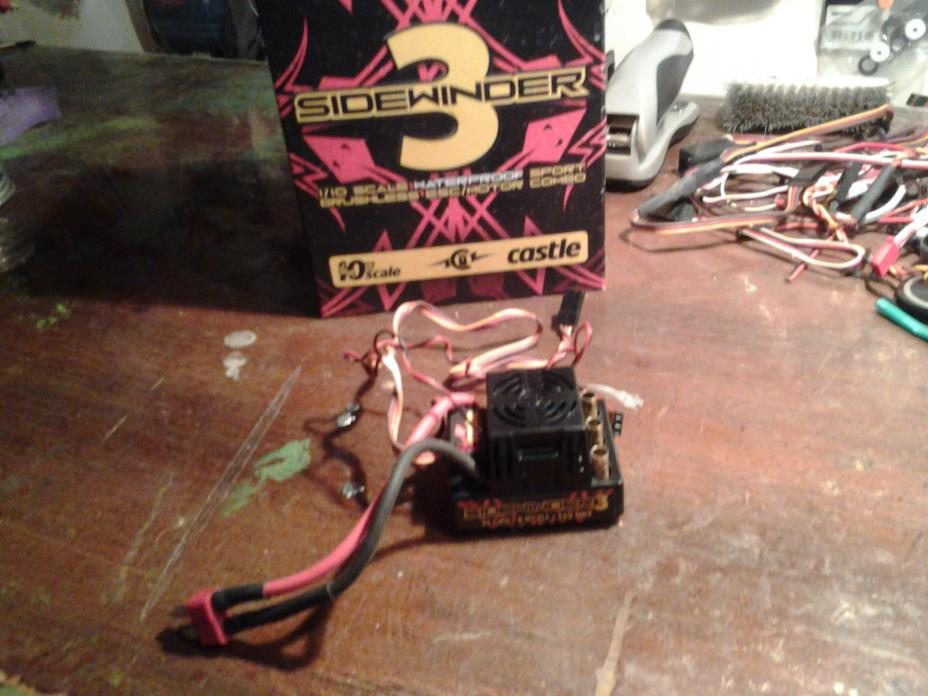 rc car castle sidewinder 3 clean