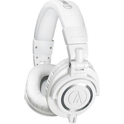 Audio Technica ATH-M50xWH White Pro Studio Monitor Headphones ATH-M50X ATHM50