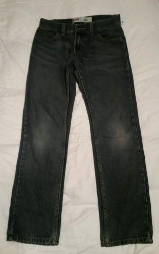 Mens boys Levis 511 skinny jeans blue nice wear skinny cut size 14 regular