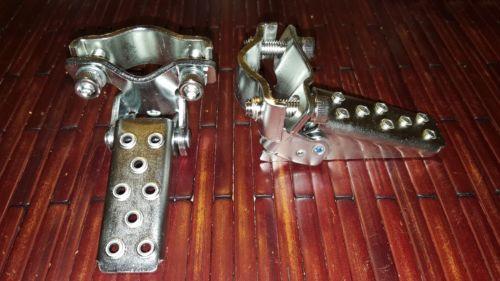 NOS Pink Folding BMX Fork Standers GT style Old school vintage mongoose