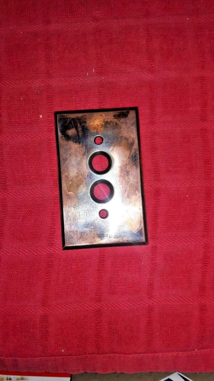 Vintage Push Button Switch Cover