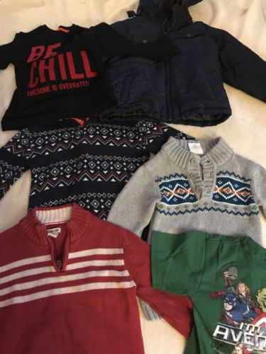 Mixed Lot Of BOYS clothing Size 5T/5 winter