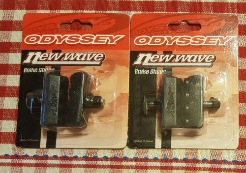 NOS ODYSSEY New Wave brake pads shoes black old/mid school Haro GT Redline Hutch