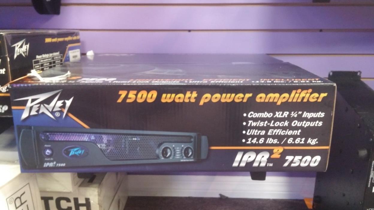 PEAVEY IPR7500 POWER AMP