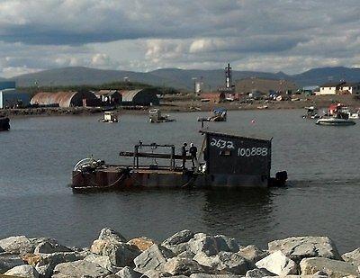 40ft x 14ft Steel Barge for Dredge Nome