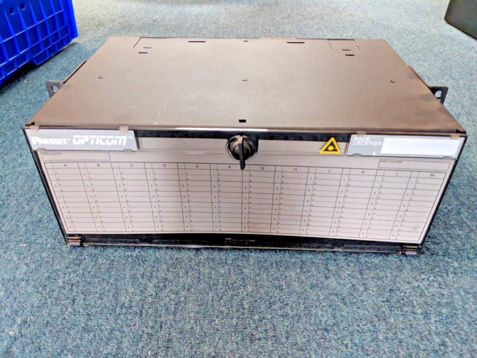 Panduit FRME4 Opticom 4RU Fiber Rack Mount Enclosure