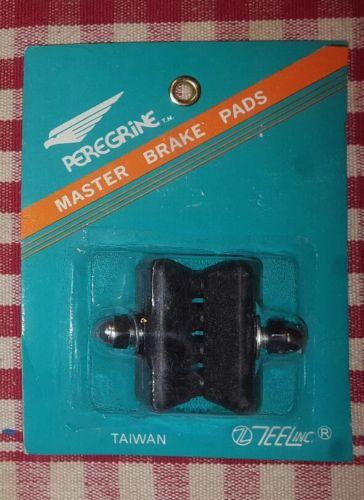 NOS PEREGRINE MASTER black brake pads old school bmx GT HARO REDLINE HUTCH