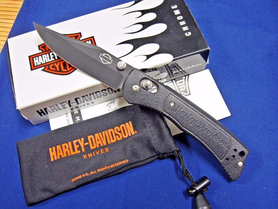 Benchmade Harley-Davidson 13150BK-1 Mini Hardtail Axis Knife Discontinued & MIB