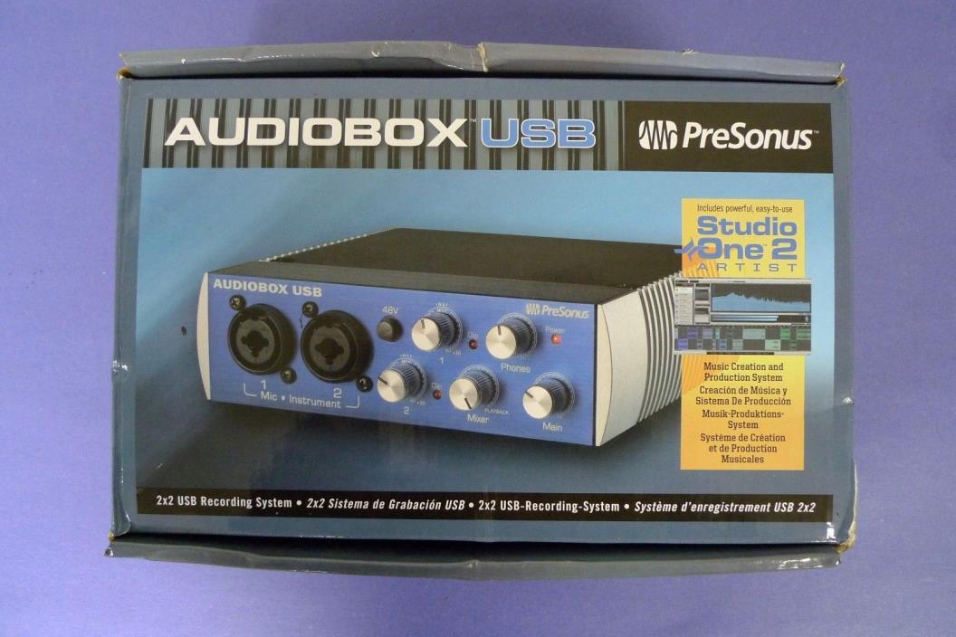 Presonus Audiobox USB Music Creation & Production System