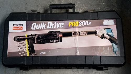 Makita Autofeed Screwgun Quik Drive Pro300s (in case) ~ Free Shipping