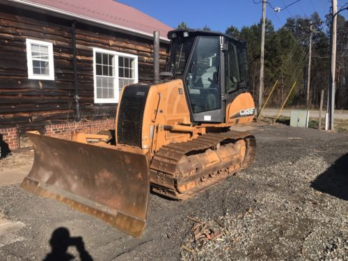 2007 Case 750k Bulldozer WITH 6 WAY BLADE LOW HOURS