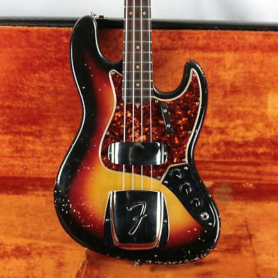 1964 Fender Jazz Bass! Sunburst All-Original! Full PRE-CBS! MAY '64!