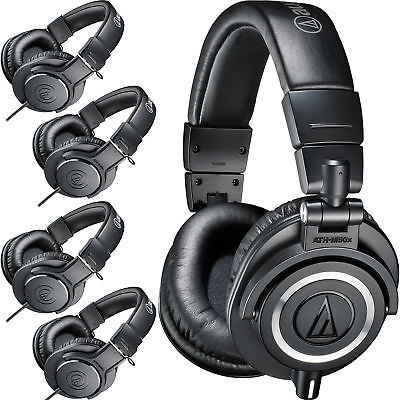 Audio-Technica ATH-PACK5 Headphone Studio Pack with 1x ATH-M50x & 4x ATH-M20x