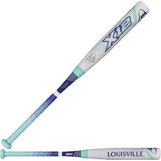 Louisville Slugger X12 Composite (-12) Fastpitch Softball Bat 28/16 WTLFPXT172