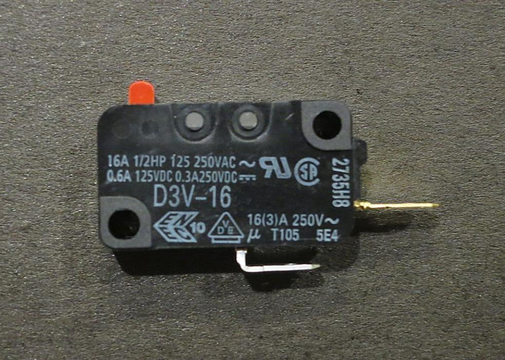 Genuine OEM WB24X823 GE Microwave Switch-Primary and Secondary PS237415
