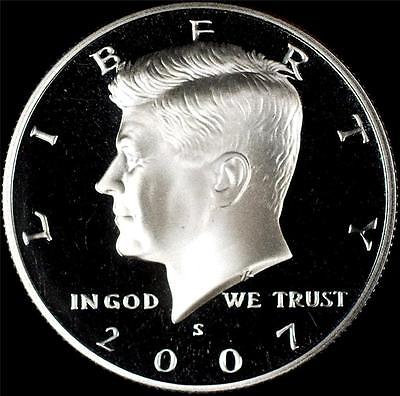 2007 S CLAD PROOF DCAM KENNEDY HALF DOLLAR ROLL (20)