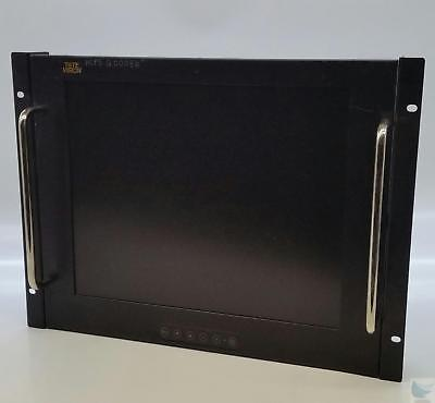 ToteVision LCD-1700VR LCD Display Monitor with Rotating Side Mounts - TESTED