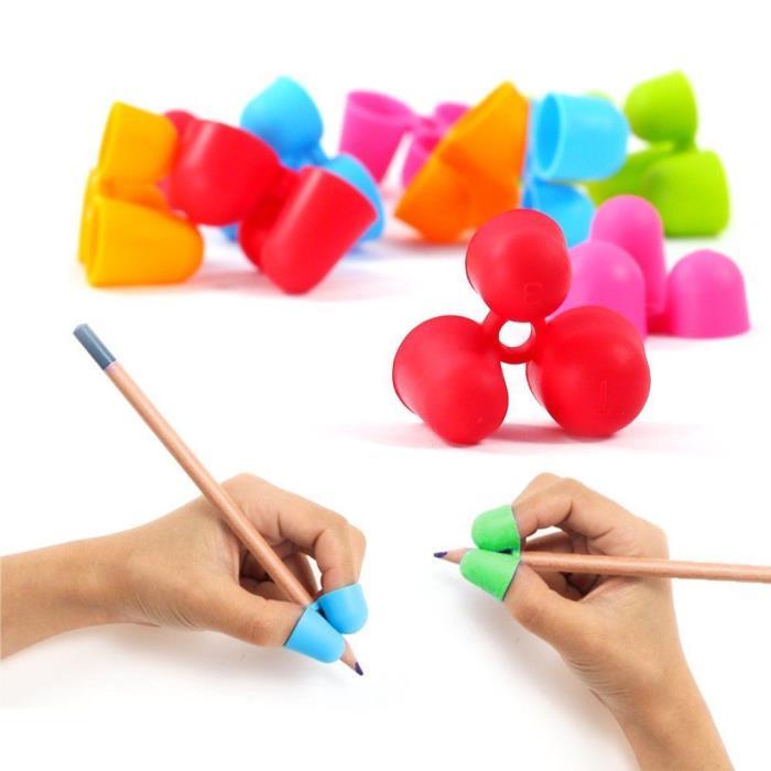 12pcs Pencil Grips Writing Claw Writing Aid Training Grip Utensils Pencil Holder