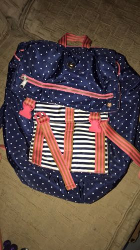 EUC NEW MATILDA JANE CLOTHING A+ BACKPACK BACK PACK BOOK BAG TWWEEN 435 WEEKEND