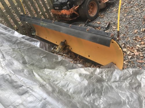 truck snow plow