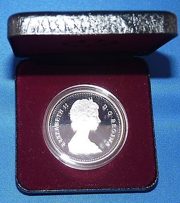 1989 Canada Proof Silver Dollar - Mackenzie River