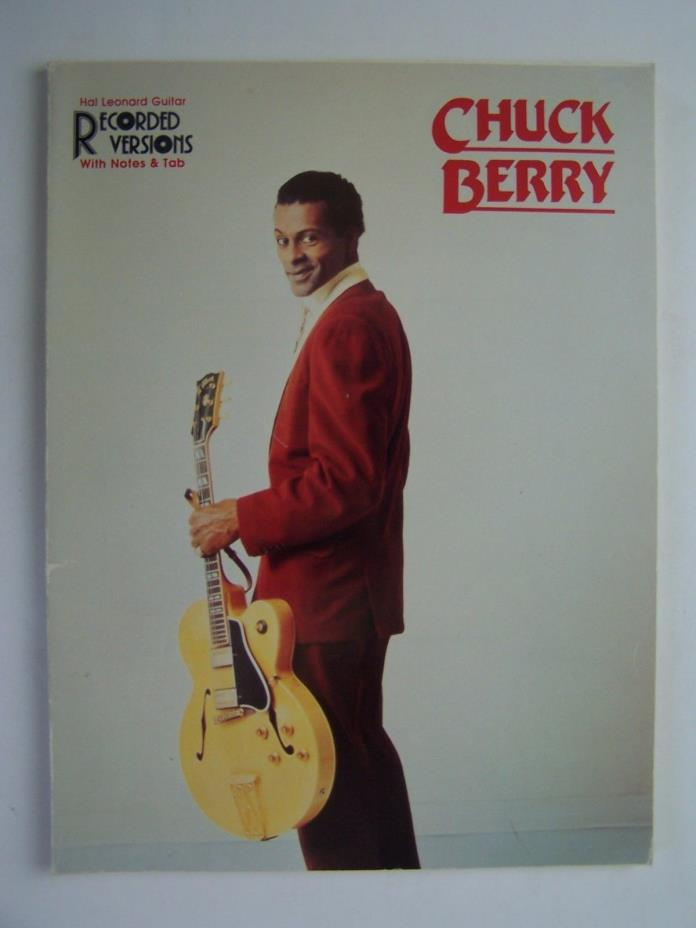 Chuck Berry Guitar Recorded Versions Hal Leonard Songbook