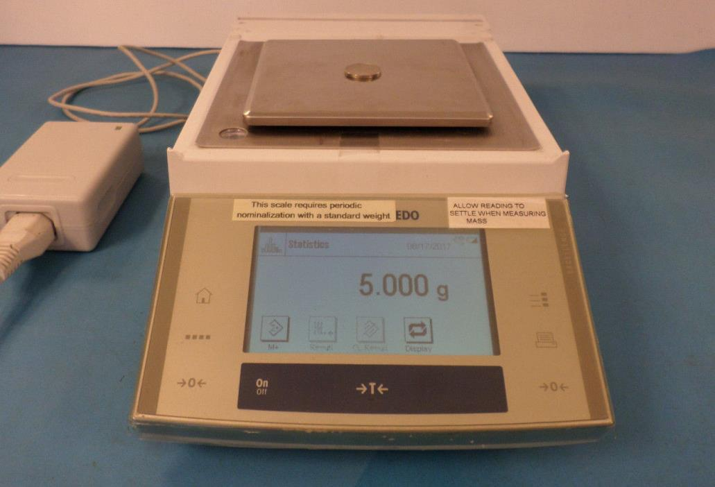 Mettler Toledo XS1003S Analytical Balance / Digital Scale Measures Accurately