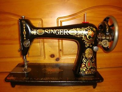 1911  ANTIQUE SINGER SEWING MACHINE MODEL 66