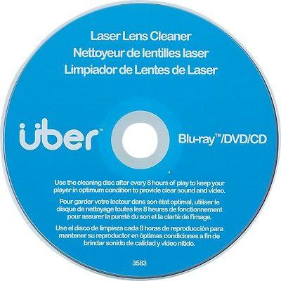 Uber(TM) 27311 Laser Lens Cleaner for CD, DVD & Blu-ray(TM)