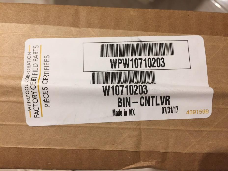 Whirlpool OEM Brand New shelf/bin # wpw10710203