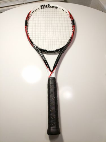 Wilson BLX Surge black/red Basalt MP racket 4 1/2 4 L4 racquet $199