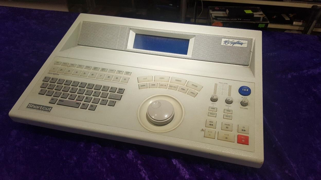 360 Systems Shortcut Personal Audio Editor model SC-180-3 80gb hd