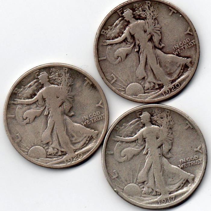 1917s rev 1920d/1920p better dates/mints decent condition/Starts under $10 each