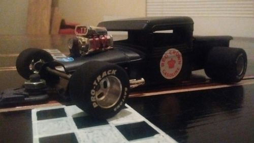 1/24 slot car Modified 34 Ford truck hard body RAT ROD