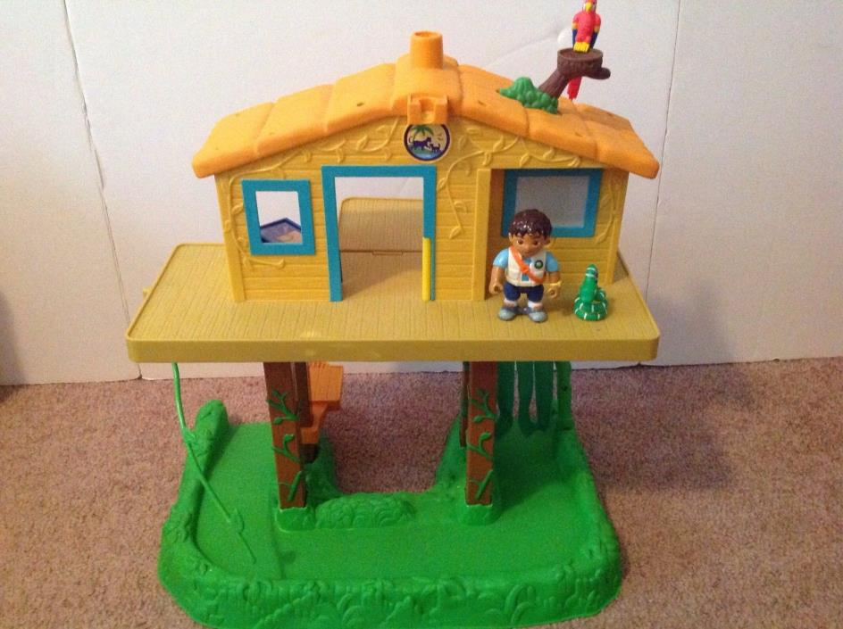 Go Diego Go Rescue Command Center Talking Treehouse