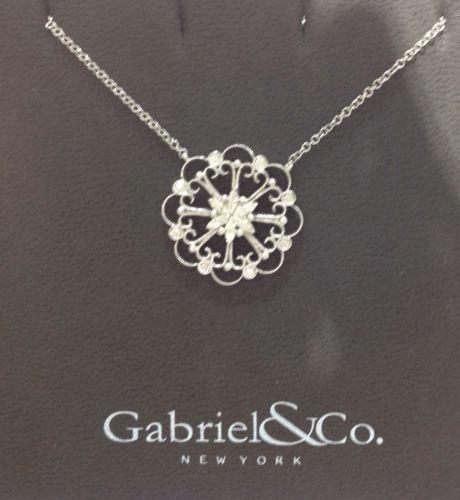 Gabriel & Co. 14kt. White Gold