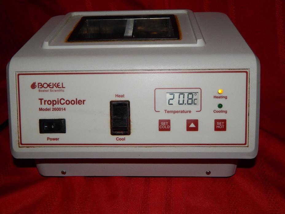 BOEKEL TropiCooler 260014 Bench Top Digital Block Cooler / Heater