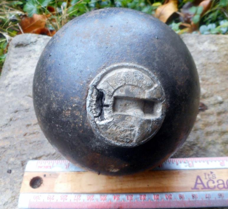 Civil War Relic Confederate 12 pound Bormann Artillery Shell