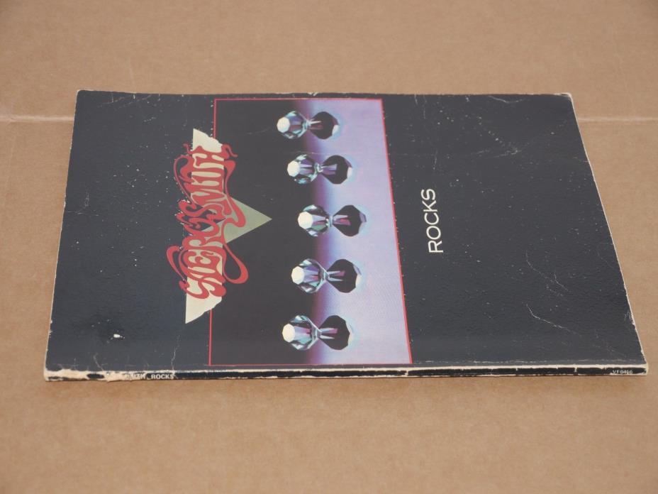 AEROSMITH - ROCKS - Chord SONGBOOK - 1976