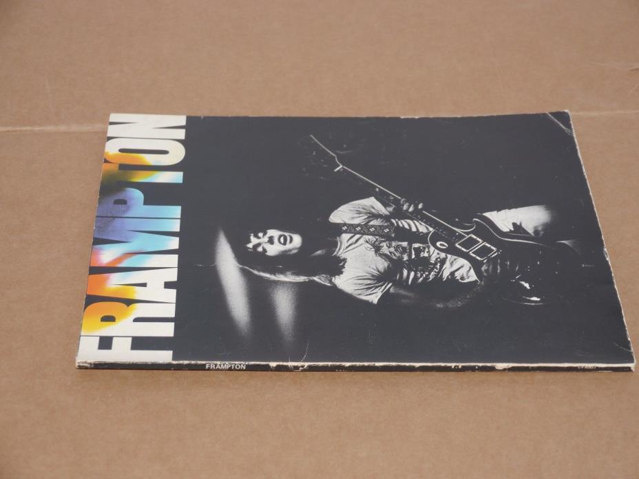Peter Frampton - Frampton - 1975 - Song Book/Sheet Music, Rare