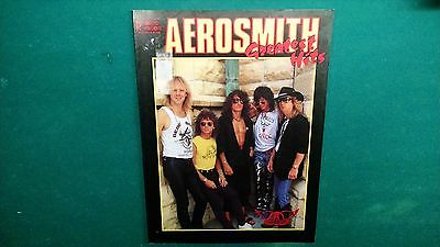 Aerosmith Greatest Hits Guitar Tab Tablature Song Book