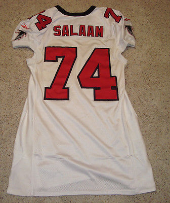 Ephraim Salaam Atlanta Falcons San Diego State Aztecs Game Worn/Issued Jersey