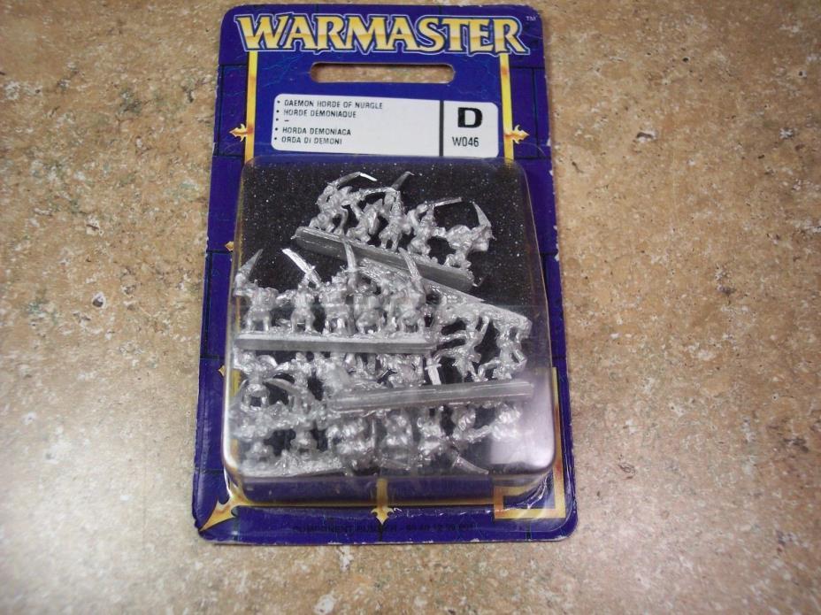 Games Workshop Warmaster Chaos Daemon Horde of Nurgle Blister B