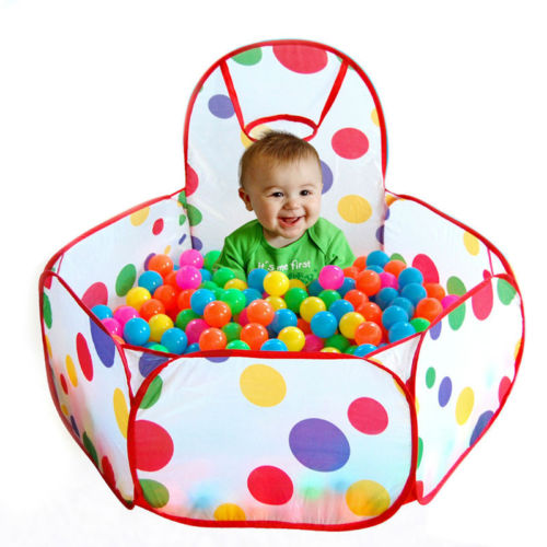 Kids Ocean Ball Pit Pool Game Play Tent Playhouse for Outdoor Indoor Ball Toy US