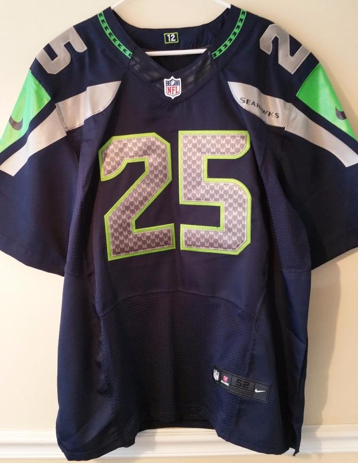 Richard Sherman NFL replica Nike #25 football jersey! Size 52, Seattle Seahawks!