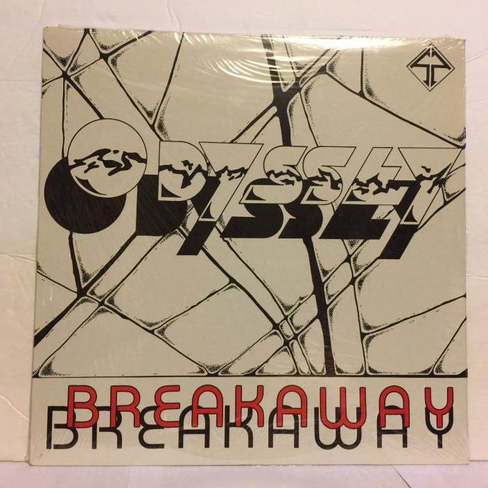 Odyssey Breakaway Sealed New Utica NY Local AOR Metal Rock Band Album LP Vinyl