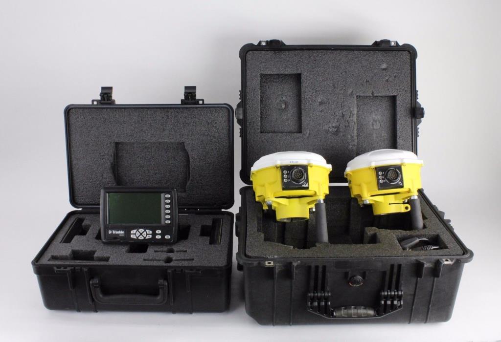 Trimble GCS900 MS990 GPS GNSS Cab Kit, 900 MHz CB430 Display, CAT Accugrade