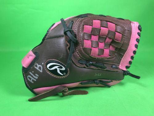 Rawlings FP10DBP Fastpitch Softball / Baseball Glove - Pink - 12